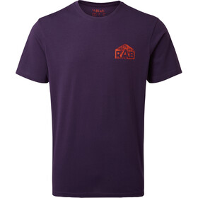 Rab Stance Hex SS Tee Men purple quartz
